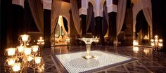 Marrakech: Royal Mansour hotel - have dinner at Le Grande Table Marocaine (created by three Michelin-starred chef, Yannick Alleno)