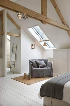 43 Beautiful Exposed Beams in House #dreamhouse #homedecor #homeideas #homeimprovments