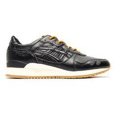 Asics Gel Lyte III - Black Leather
