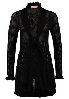 ADELINA - Cardigan - black