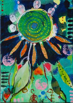 Dreams in December    13x18 cm ** Sold ** Mix Media on Hardboard Contact me on linebank@me.com feel like seeing more  please go to www.facebook.com/banksabstractions