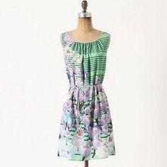 Hp Anthropologie Yonina Mini-Dress