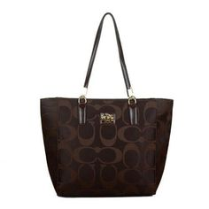Look Here! Coach Madison East West Small Coffee Totes EAH Outlet Online