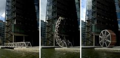 Rolling Bridge. Thomas Heatherwick