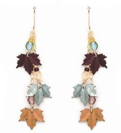 Maple Leaf Earrings from Appalachian Spring at Reston Town Center