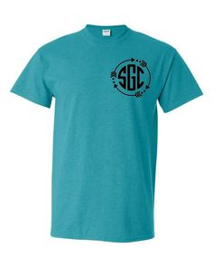 a87f298acbfcfe Arrow Circle Monogrammed Tee - Southern Grace Creations