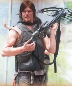Daryl Dixon Norman Reedus <-- gross and emaciated? I don't think so.