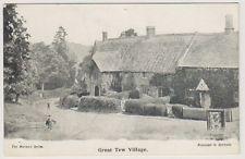 Oxfordshire postcard - Great Tew Village