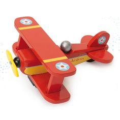 Le Toy Van Rood Vliegtuig Speelgoed categorie: Speelgoed en spellen