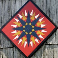 Barn Quilt Patterns to Paint | tags farm barn quilt pattern quilt pattern name french bouquet