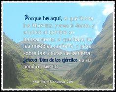 Jehová de los ejércitos  www.mujereresunica.com