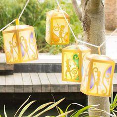 Lanterne di carta delle fate pirata - Disney Inspired