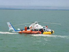 Float's and a good pilot saved all on board.