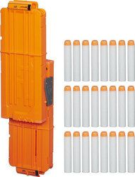 The NERF Modulus Flip Clip Upgrade Kit includes a flip clip and 24 foam darts for the NERF Modulus blaster (sold separately). Nerf Gun, Nerf Machine Gun, Pistola Nerf, Kit, Tall Cabinet Storage, Locker Storage, Nerf Toys, Sports Games For Kids, Nerf Party