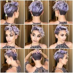 Today we have the most stylish 86 Cute Short Pixie Haircuts. We claim that you have never seen such elegant and eye-catching short hairstyles before. Pixie haircut, of course, offers a lot of options for the hair of the ladies'… Continue Reading → Pixie Hairstyles, Pretty Hairstyles, Pixie Haircuts, Girls Shaved Hairstyles, Undercut Hairstyles Women, Brown Hairstyles, Short Hair Cuts, Short Pixie, Pixie Cuts