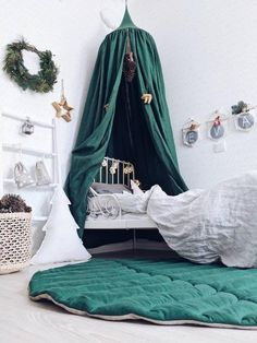 ☀ The bed hanging canopy is a stylish accent for your room. We are inspired by natural materials, ethical manufacturing and products for slow living decor and clothing. ✪ It applies best for: nursery to make your kid bed place cosy and comfortable p Girls Bedroom, Bedroom Decor, Bedrooms, Cool Kids Rooms, Kids Decor, Home Decor, Decor Ideas, Slow Living, Kid Beds