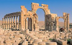 Palmyra was an ancient Semitic city, located in Syria. Dating back to the Neolitic, Palmyra was first attested in the early second millennium BC, as an oasis and a caravan stop for travelers crossing the Syrian desert. The city is mentioned in the Hebrew. By the second century AD, Palmyra became an important city and was engaged in the protection of the Roman east.
