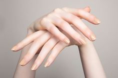 Nude Nail Polishes for Every Skin Tone Beautylish fall nails pale skin - Fall Nails Neutral Nail Color, Neutral Nail Polish, Nail Polish Colors, Nail Polishes, Hand Drawing Reference, Hand Pose, Hand Photography, French Nails, Jolie Photo