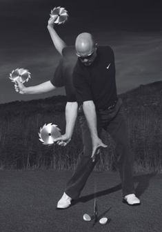 Powerful images, like these excerpts from Nick Bradley's book *Kinetic Golf*, are great tools for improving your swing. Ben Hogan Golf Swing, Golf Wedges, Golf Ball Crafts, Golf Videos, Golf Instruction, Golf Exercises, Golf Tips For Beginners, Perfect Golf, Gym Workout Tips