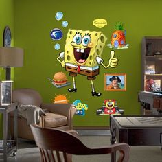 SpongeBob SquarePants Themed Room Design | DigsDigs