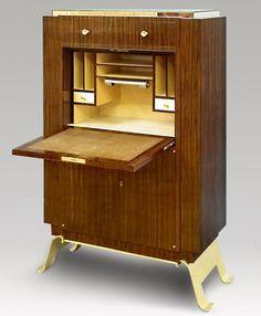Small writing desk, Jules Leleu, France