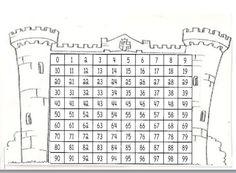 castillo de numeros del 0 al 99 - Buscar con Google