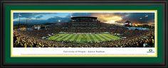 University of Oregon - Football Ducks - Autzen Stadium Panorama $199.95