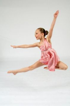 Maddie from Dance Moms.. I wish I could dance like her.