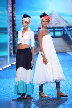 Silvia's Skirt and Strapless Dress | #FashionStar