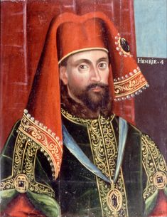 Henry IV was crowned King of England on this day 13th October, 1399. He was the first king of the House of Lancaster