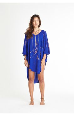 943f9249f39ca1 Gypsy05 Deep V V-neck poncho coverup