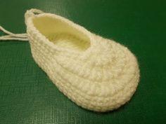 Основа пинетки  - Crochet  booties - вязание крючком - YouTube