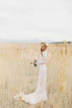 Wedding Dress for Love Long sleeve wedding dress. Lace Wedding Dress With Sleeves, Wedding Dress Train, Long Sleeve Wedding, Long Wedding Dresses, Wedding Gowns, Dress Lace, Wedding Venues, Ceremony Dresses, Modest Wedding