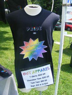 Sleevless Pride Apparel