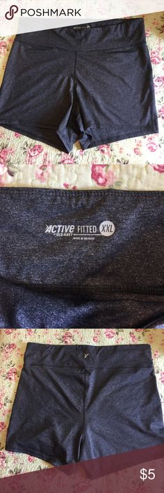 Exercise shorts size XXL, fits like a Large Exercise shorts size XXL, fits like a Large, never used. Old Navy Shorts