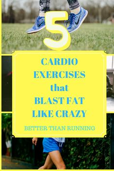 Best cardio exercises for fat burn. Better than running.