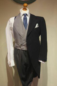 1920s bespoke Morning Coat / Tailcoat size 36