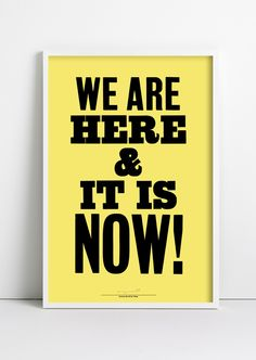 Image of Anthony Burrill poster for Wrap