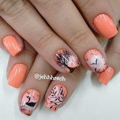 Pin by Erenia on cosas para mi Drip Nails, Gel Nails, Acrylic Nails, Nail Nail, Beautiful Nail Designs, Beautiful Nail Art, Acrylic Nail Designs, Nail Art Designs, Cute Nails