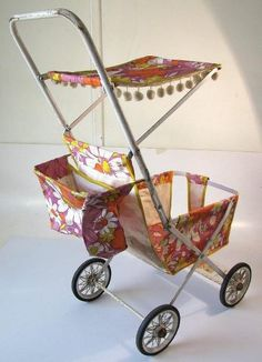 ..I had a pram that was similar.   I wasn't into baby dolls so I didn't really know what to do with it.