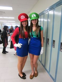Mario And Luigi Costumes For Teenage Girls