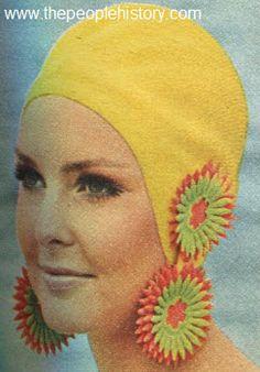1968 Swim Cap