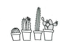 cactus embroidery pattern - Recherche Google