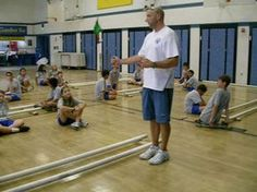 Tinikling- Step 1 (Side to Side) by Judson Sickler. This video demonstrates Step Side to Side, in Tinikling. there are five videos excellent Physical Education Activities, Music Education, Dance Movement, Music And Movement, Elementary Pe, Summer Camp Activities, Dance Games, Pe Ideas, Pe Teachers