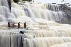 ポンガの滝 〜ベトナム〜