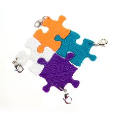 Puzzle Keychain - The 3Doodler