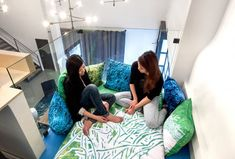Ahw, that looks cosy! Eagle's Nest at Bluecore • The Next Hot Thing in Cool Office Design | Inc.com