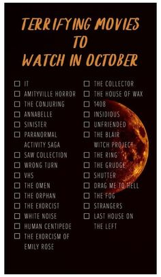 Scary Movie List, Scary Movies To Watch, Halloween Movies To Watch, Netflix Movie List, Horror Movies On Netflix, Halloween Movie Night, Halloween Horror Movies, Netflix Movies To Watch, Movie To Watch List