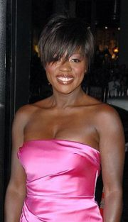 Viola Davis.....love the haircut