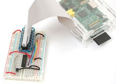 How to send Raspberry Pi Data to COSM ? This tutorial explains how to connect a analog temperature sensor to the Pi and use a small python script to upload that data for storage and graphing on COSM.